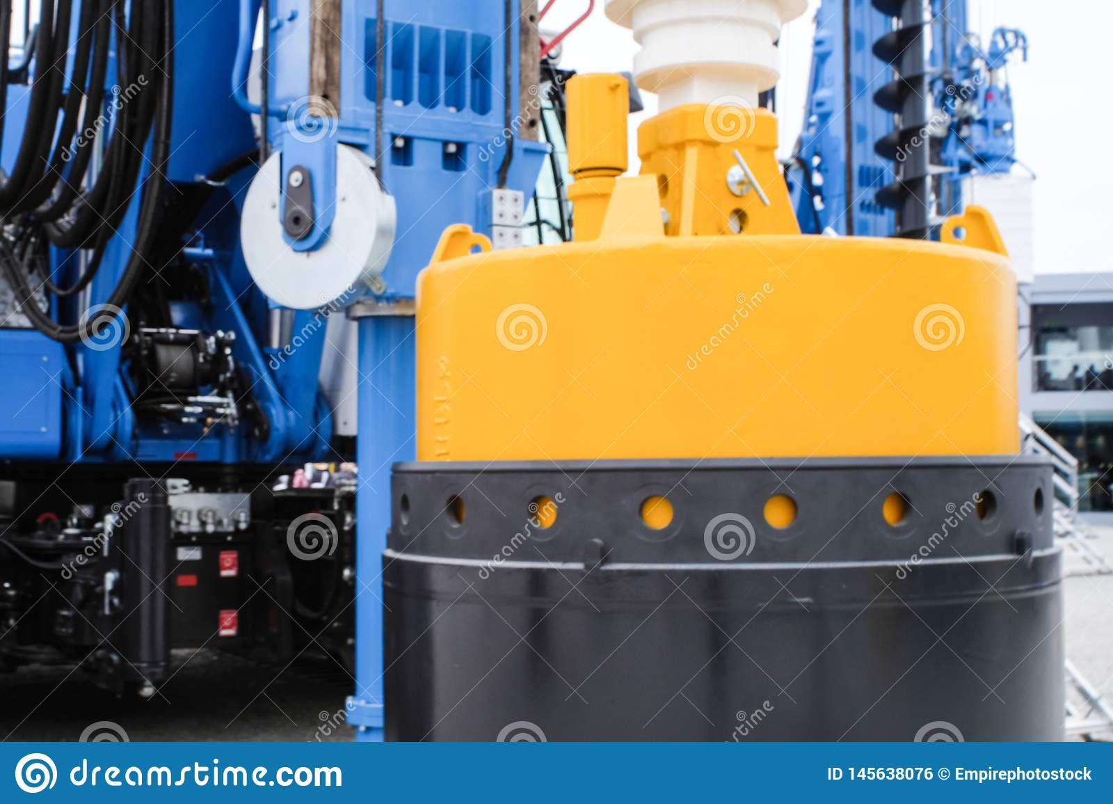 Bucket Drilling Equipment For Construction Industry, Piling