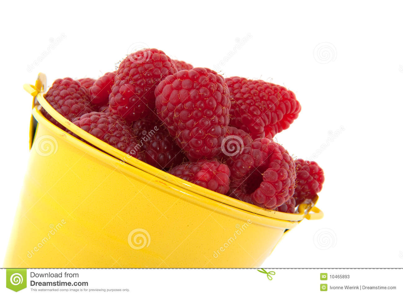 Bucket raspberries