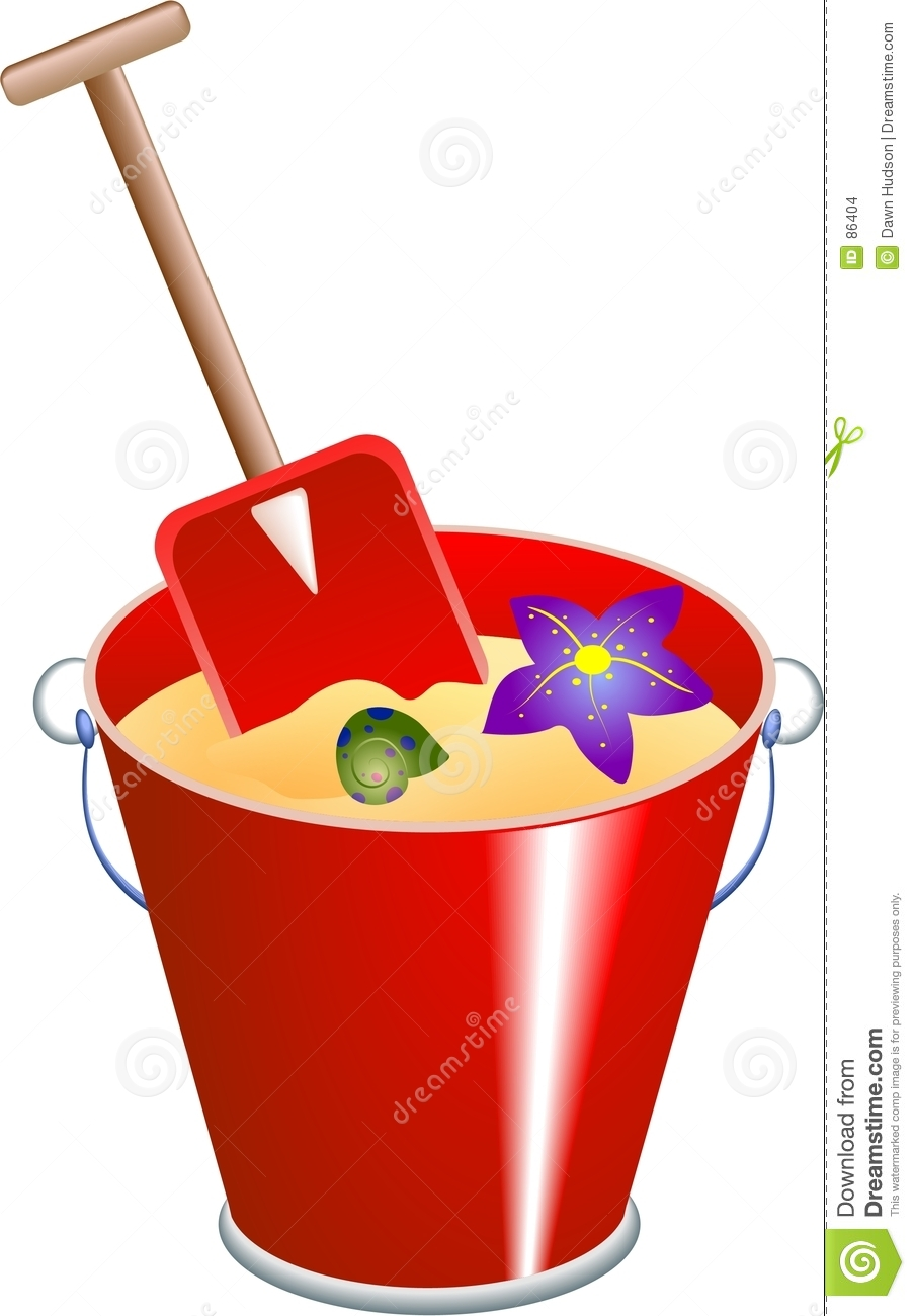 Bucket And Spade Stock Images - Image: 86404