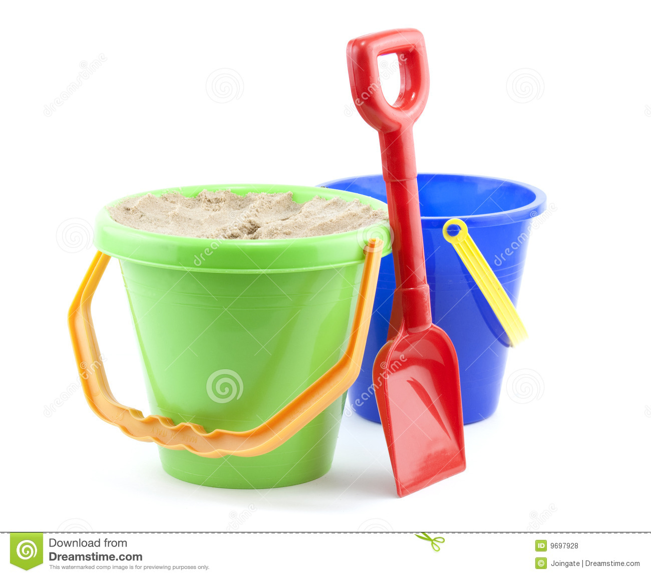 Bucket And Spade Royalty Free Stock Photos - Image: 9697928