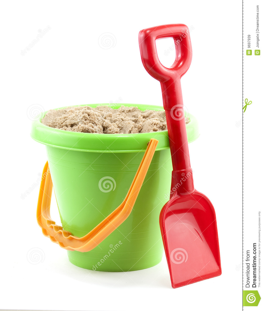 Bucket And Spade Royalty Free Stock Images Image 9697939