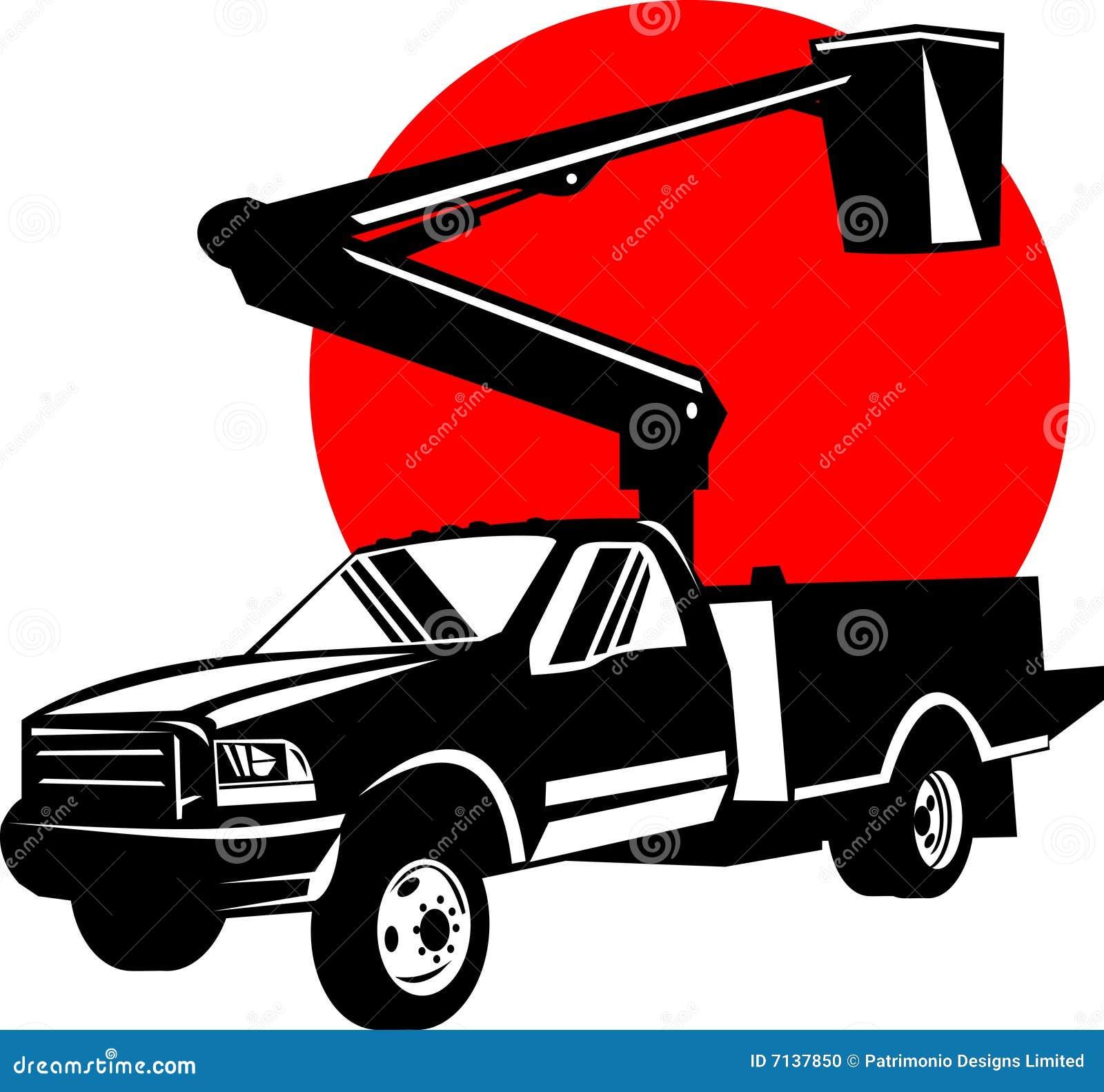 Bucket Truck Stock Illustrations 1585 Vectors Clipart