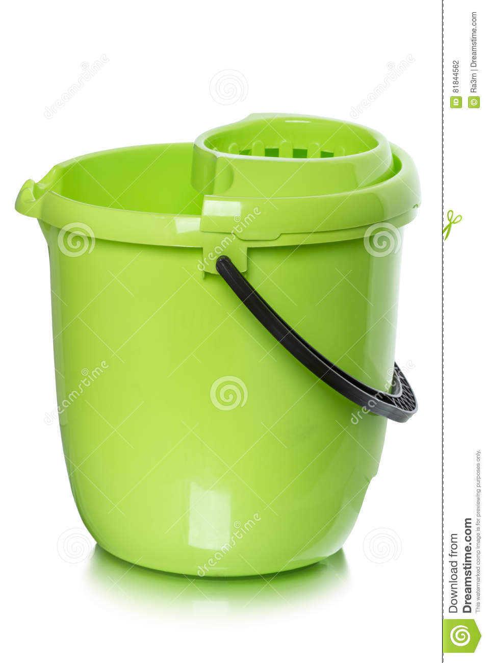 8450eb7de72552 Bucket for wet cleaning stock photo. Image of green, clean - 81844562