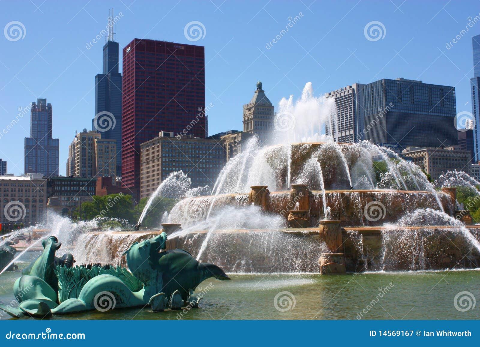 Buckingham芝加哥喷泉