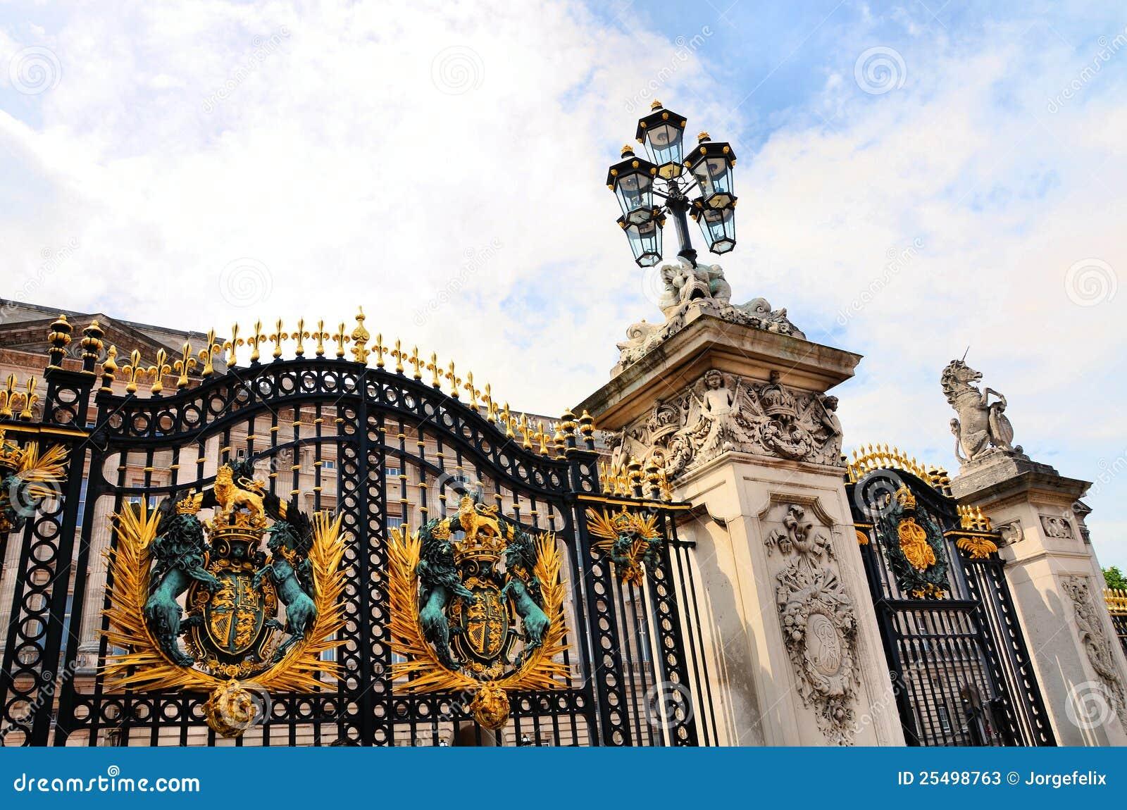 Buckingham παλάτι πυλών