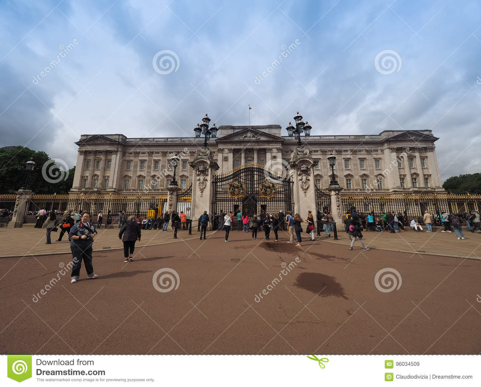Buckingham London pałac