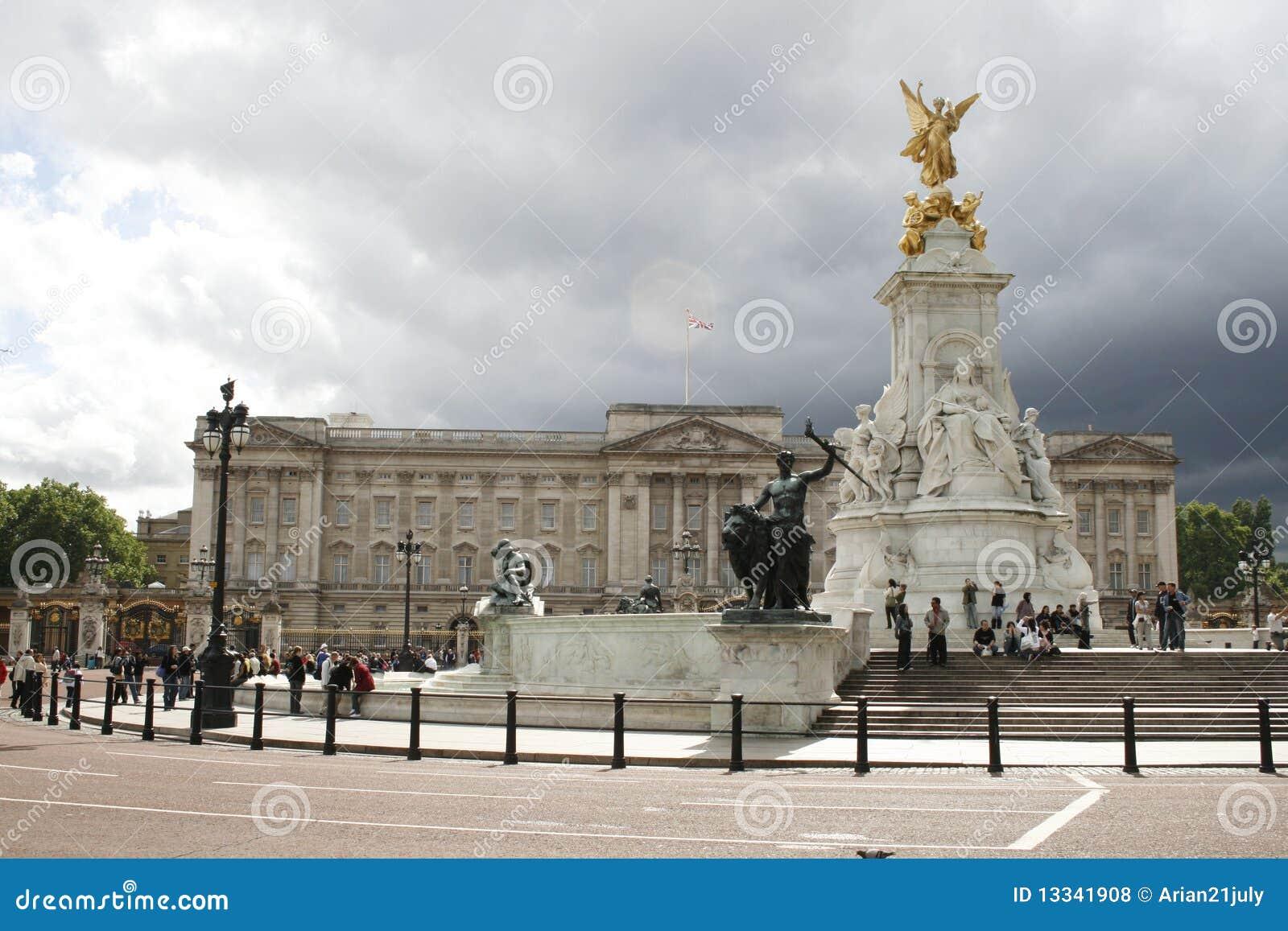 Buckingham London pamiątkowy pałac Victoria