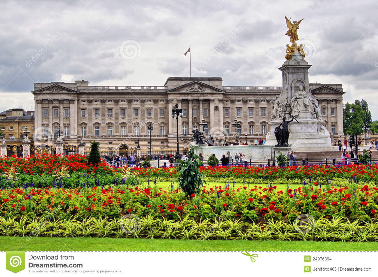 Buckingham palace images stock image 24976864 for Derriere les murs de mon jardin