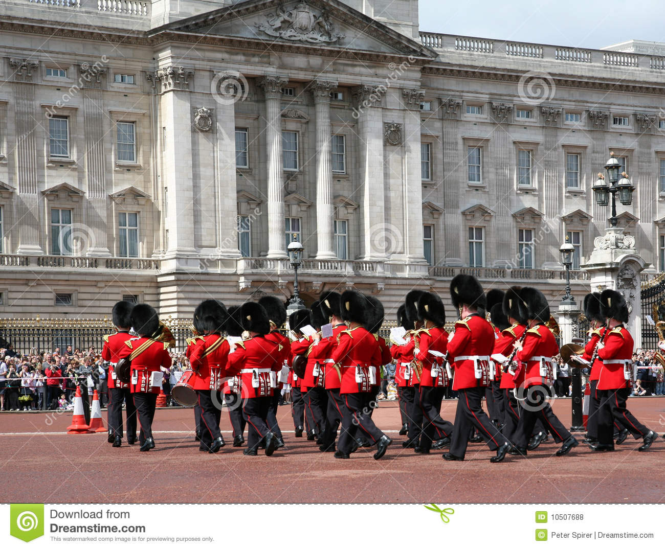 buckingham palace guard change