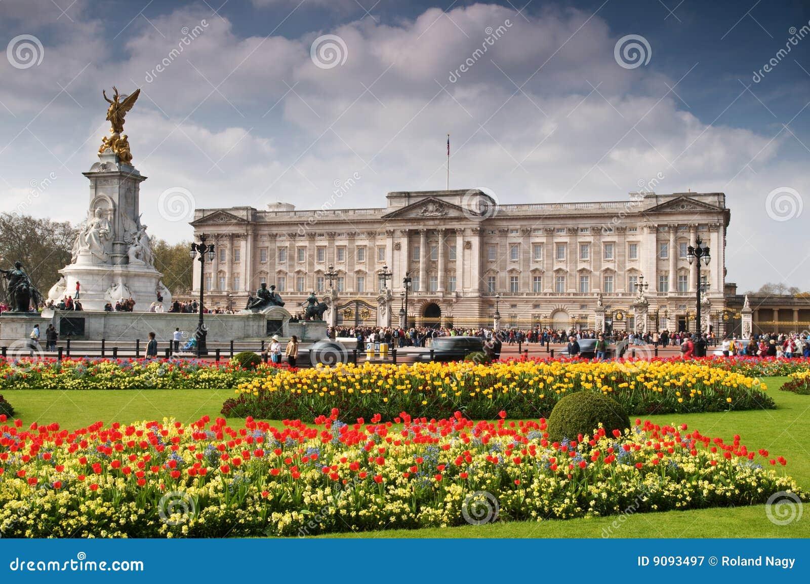 Buckingham Palace in de Lente