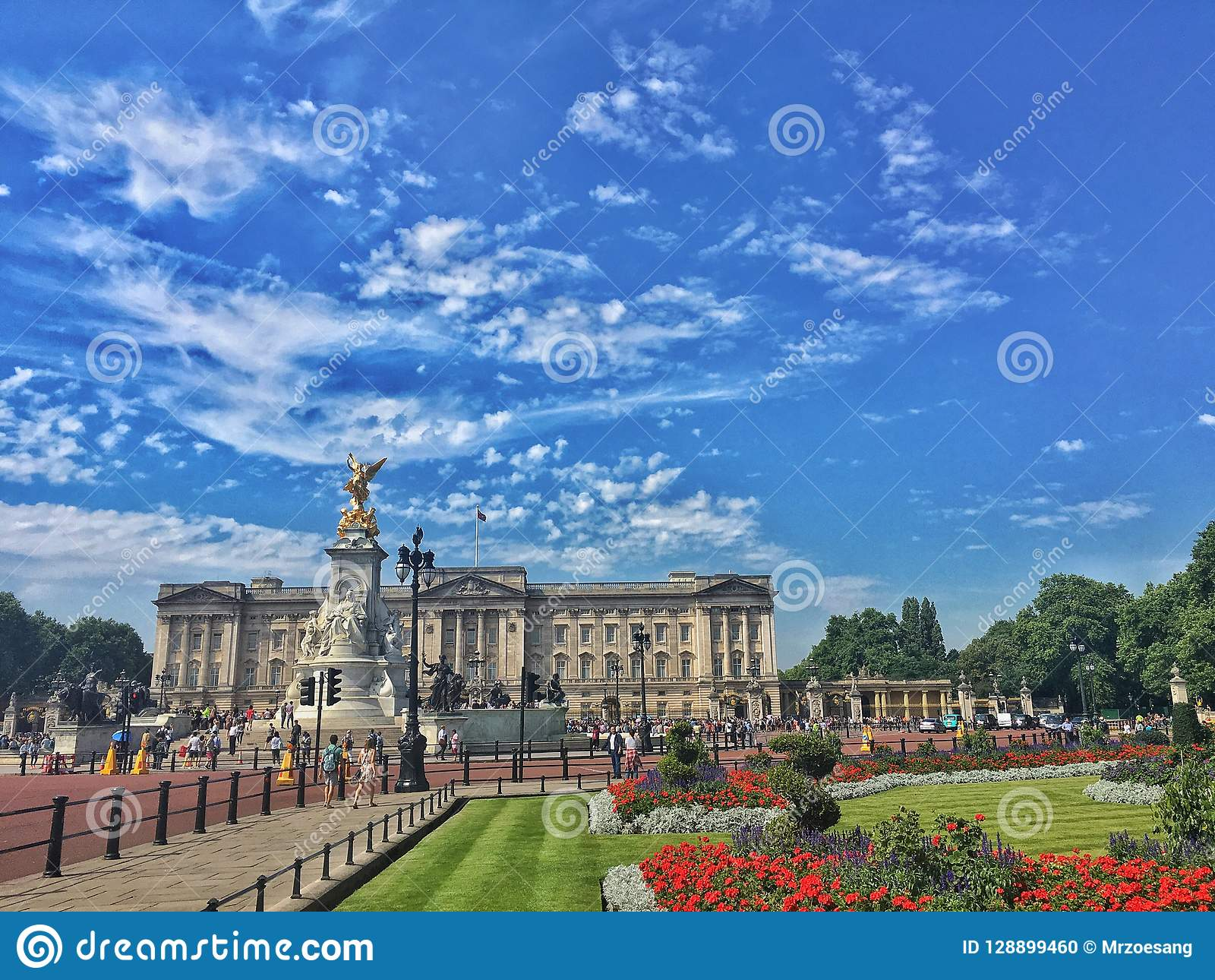 Buckingham Palace i London, UK