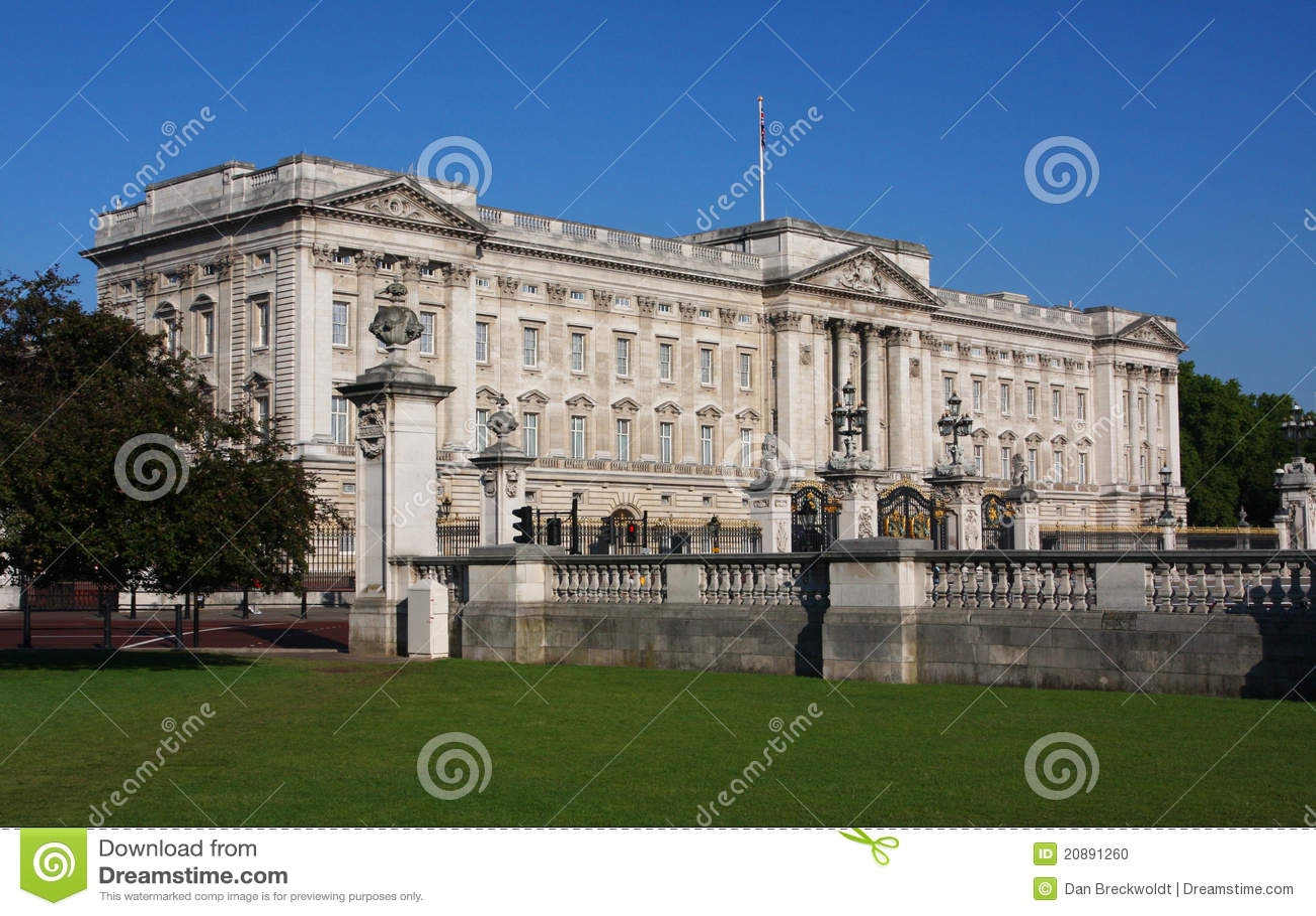 Buckingham Palace in Londen