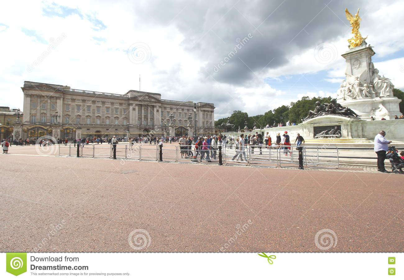 Buckingham Palace Is The London Residence And