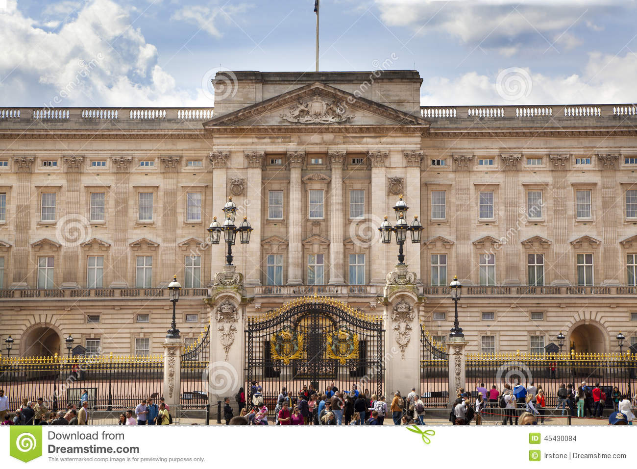 Editorial Stock Image Buckingham Palace Official Residence Queen Elizabeth Ii One Major Tourist Destination London Uk May Destinations Image45430084 on Main Entrance Gate Design For Home