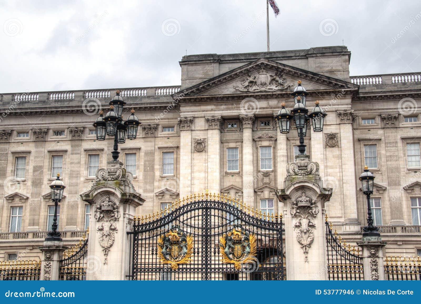 Buckingham Palace w Londyn, UK