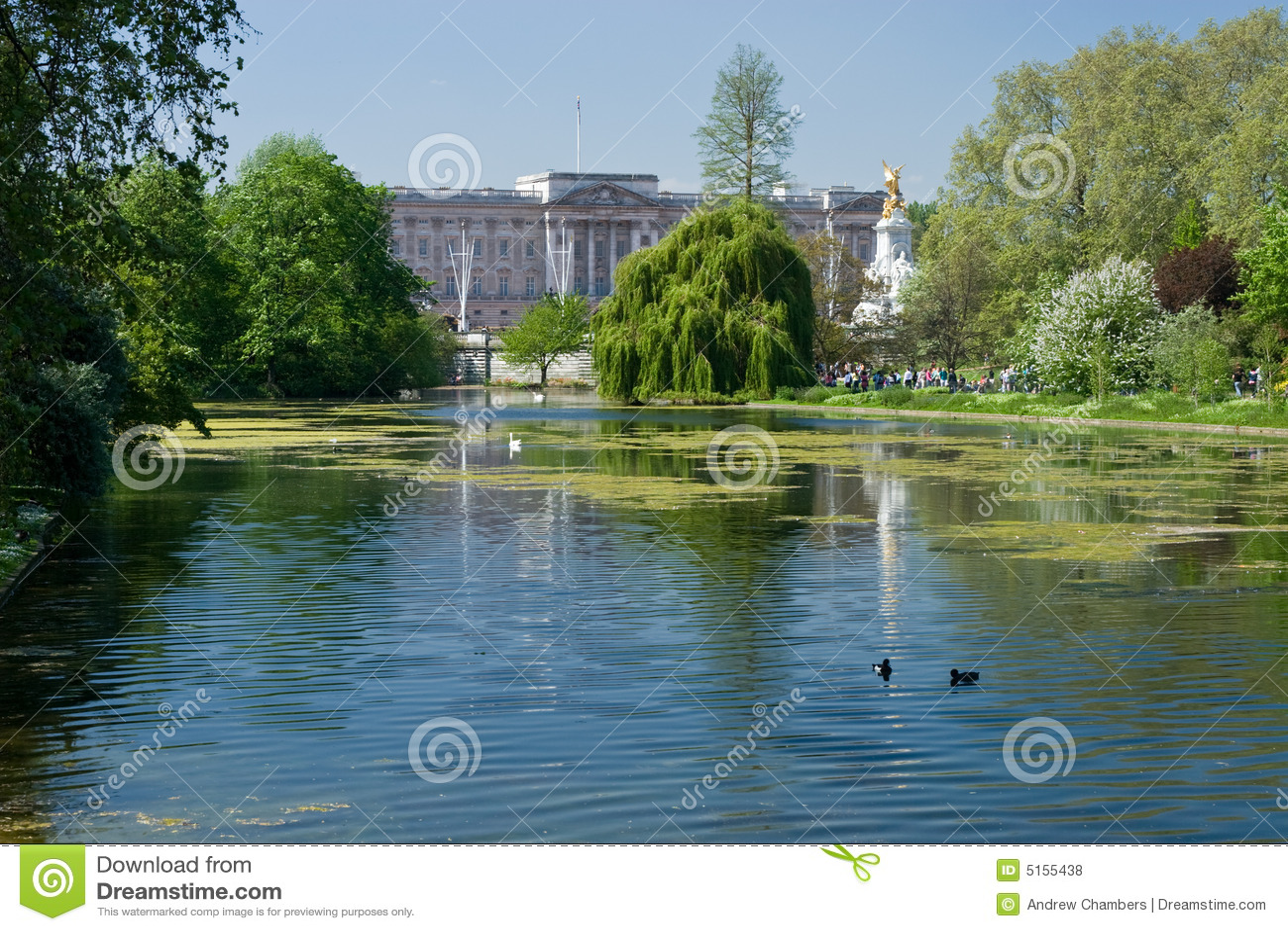 Buckingham Palace y parque de San Jaime