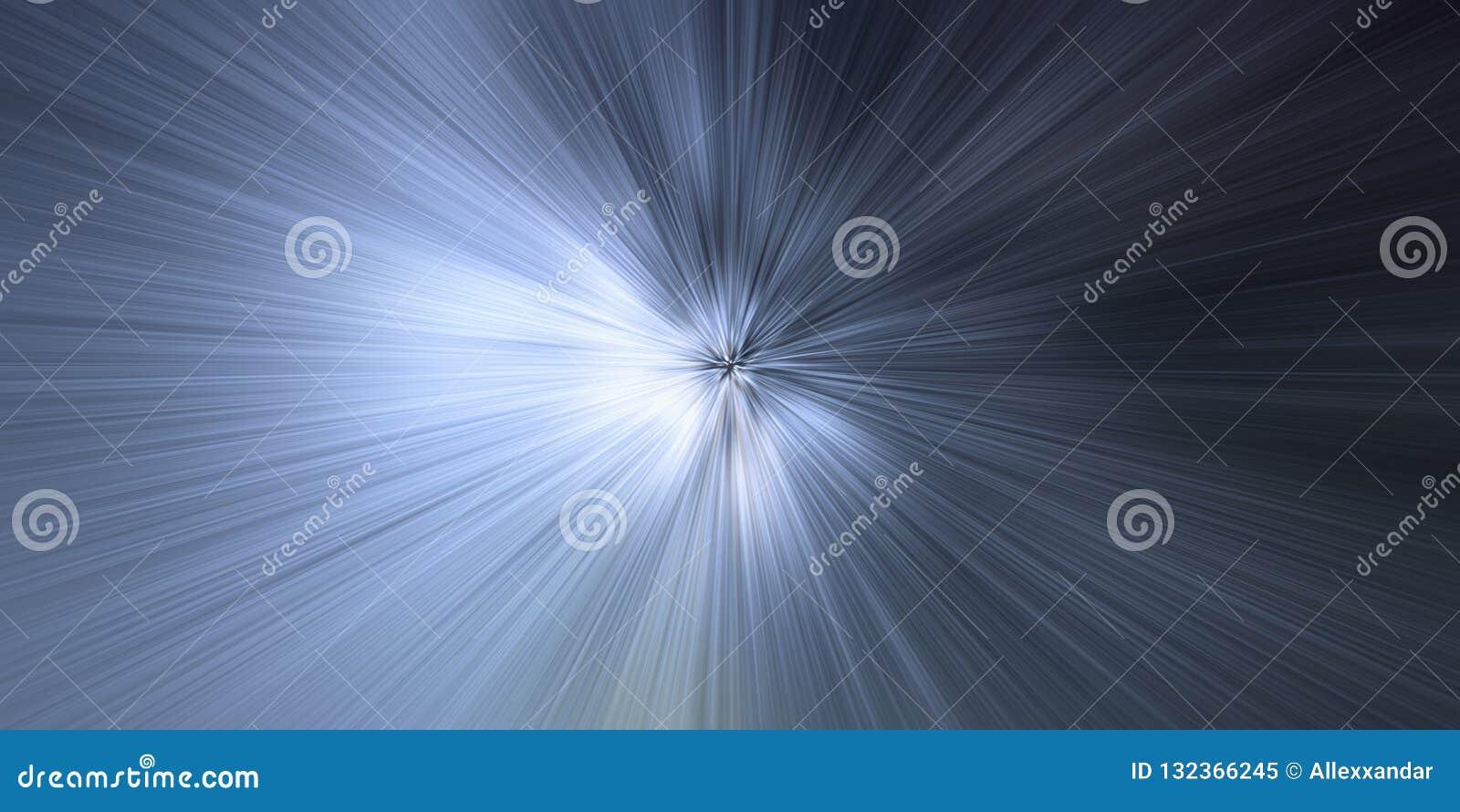Bucle temporal, velocidad de la luz, fondo del concepto del viaje del tiempo