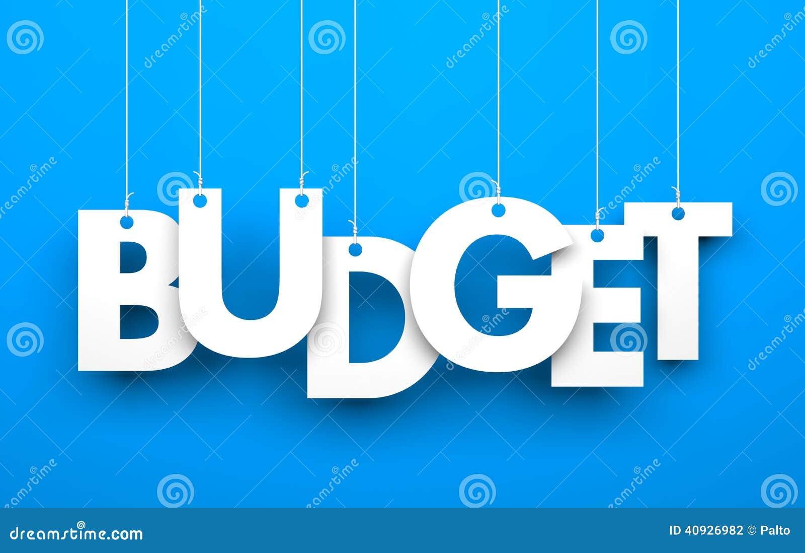 Budżet Słowo na sznurkach