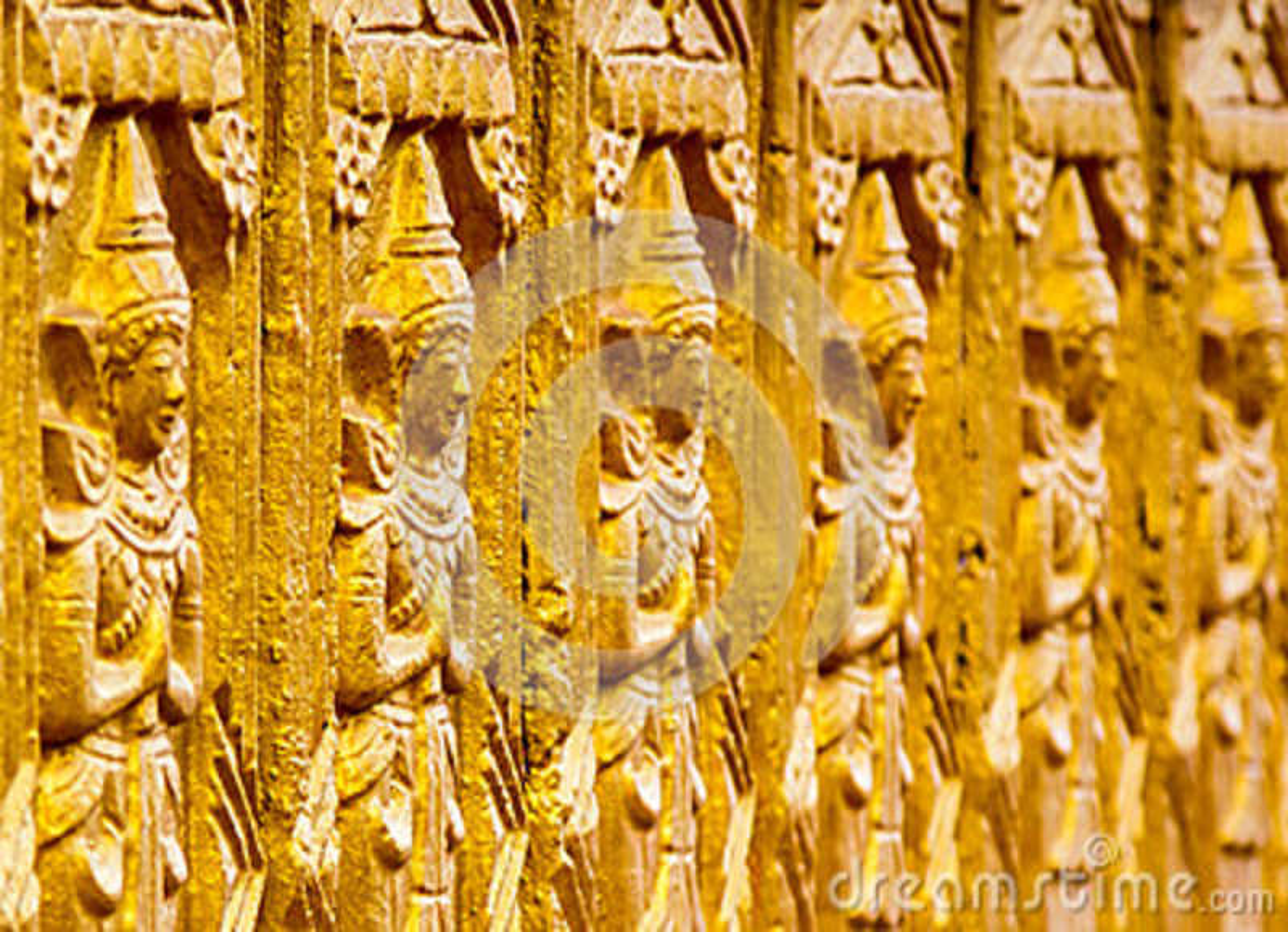 Buda que talla Tailandia