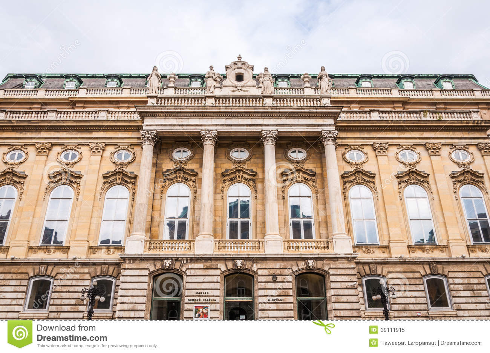 Budakasteel in Boedapest