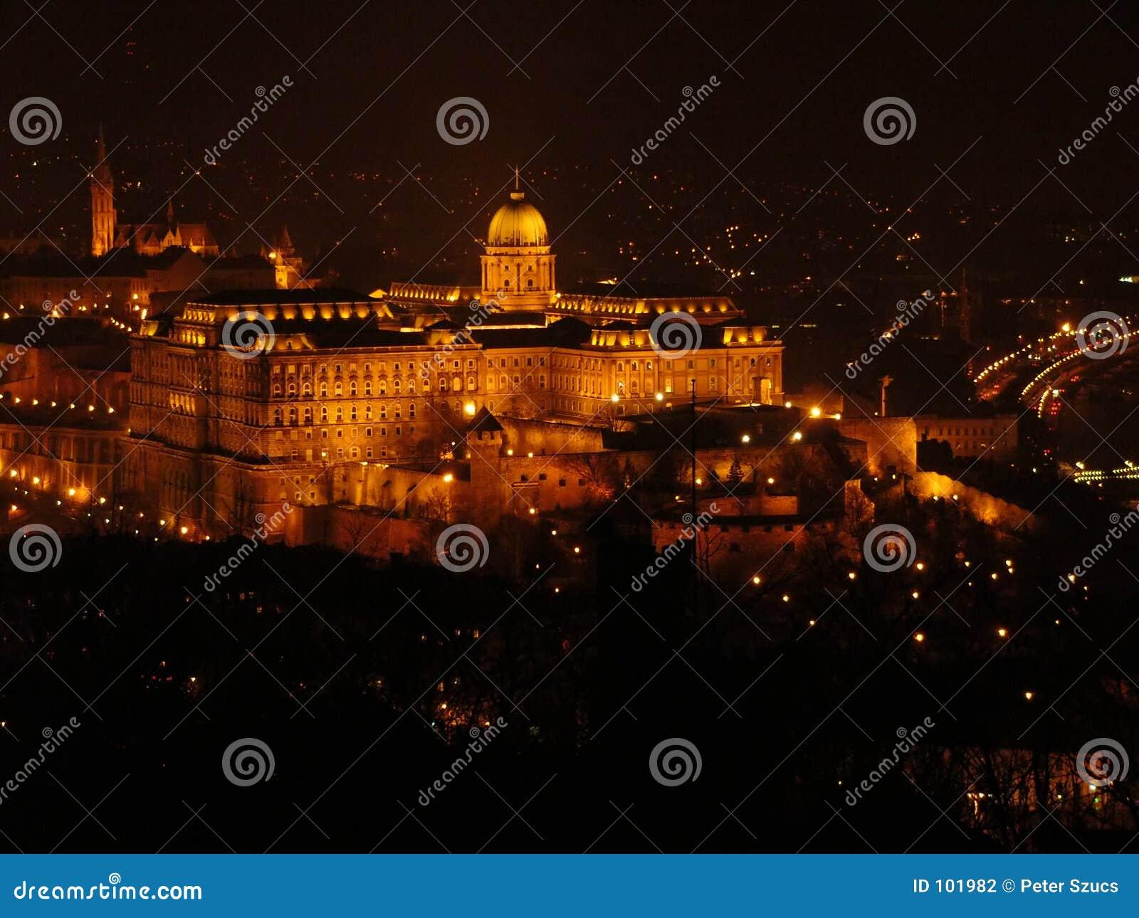 Budapest bis zum Nacht 1