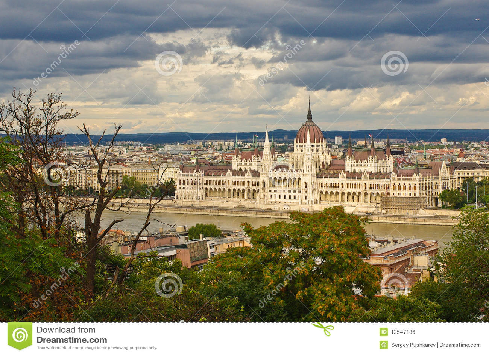 Budapest budynku parlament