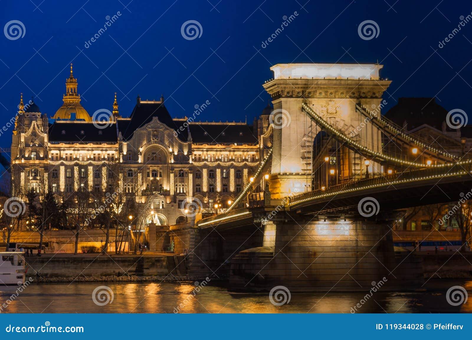 Budapest em Noite