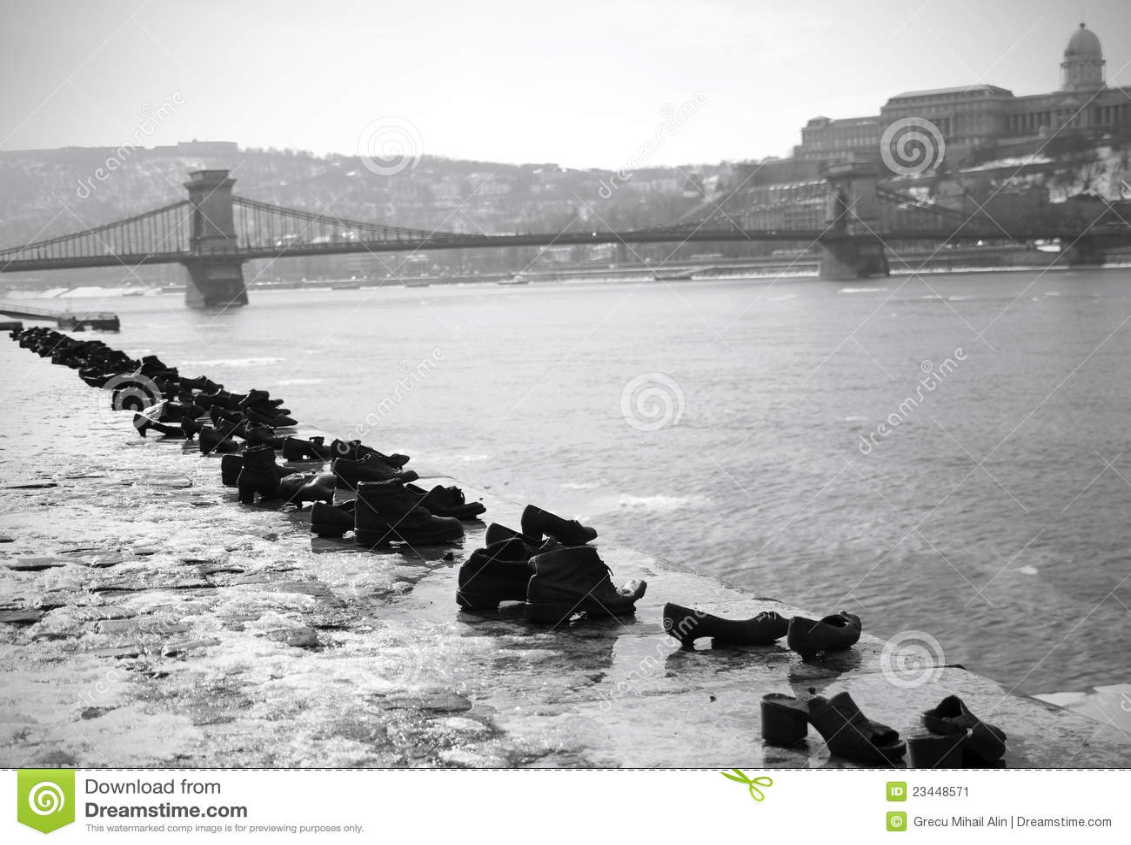 Budapest förintelseminnesmärke