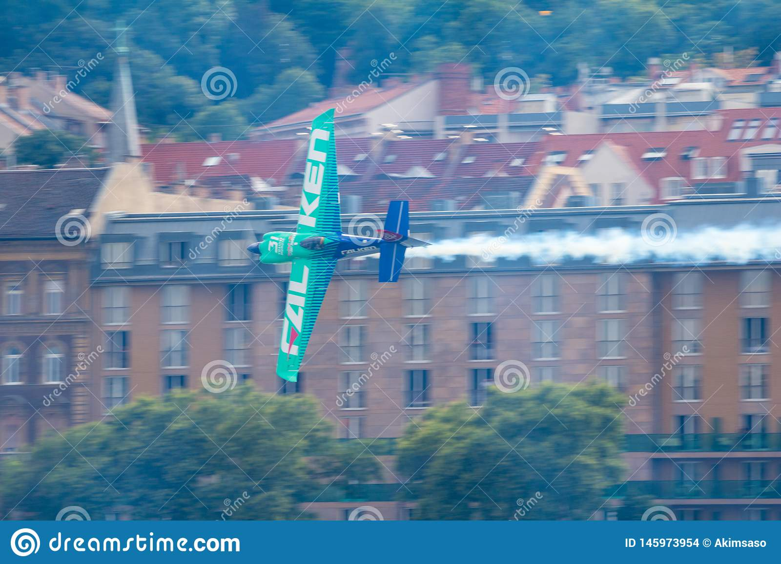 Red Bull Air Race World Championship 2018 Editorial Stock