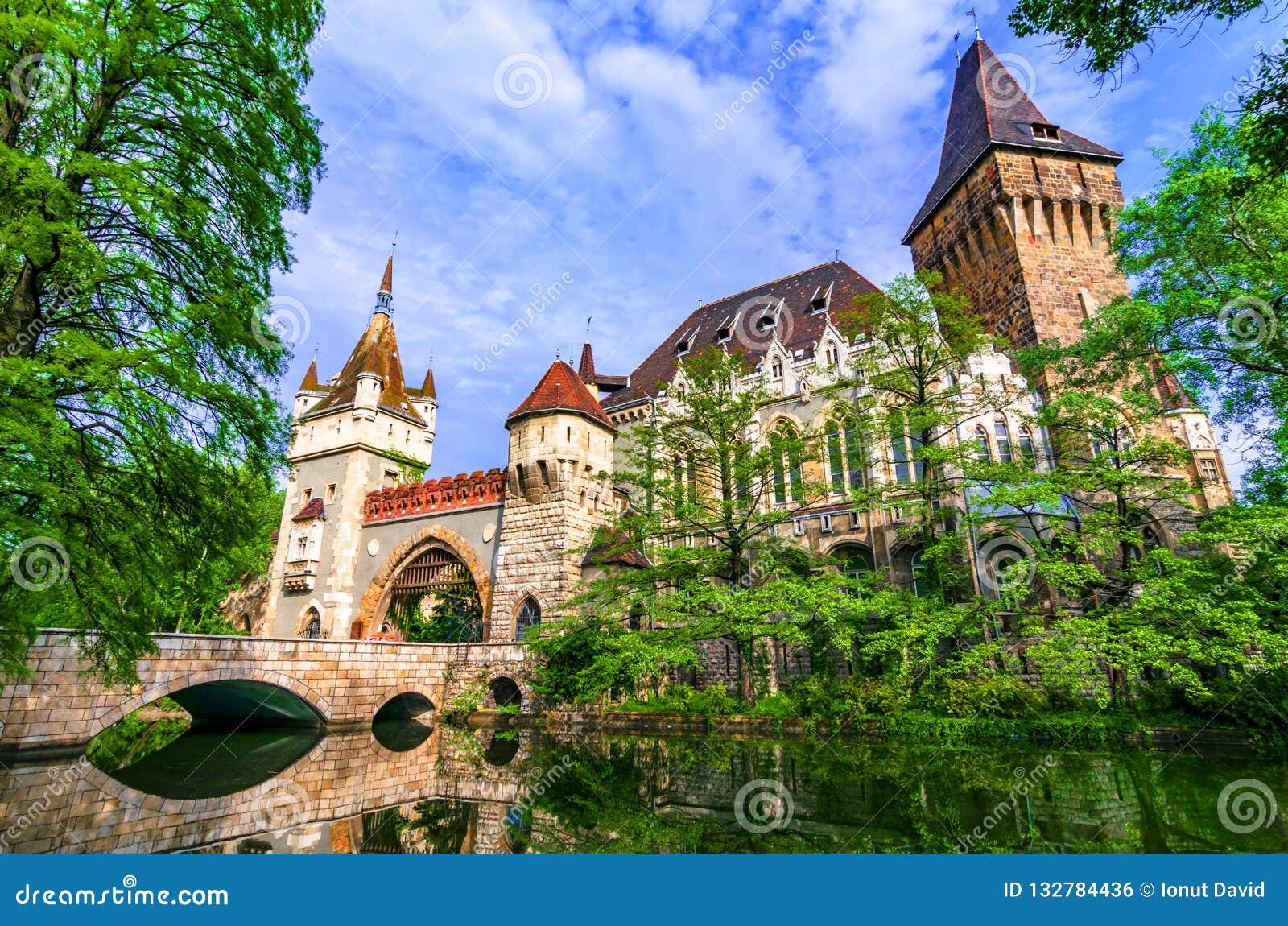 Budapest, Hungary: Vajdahunyad, City Park of Budapest