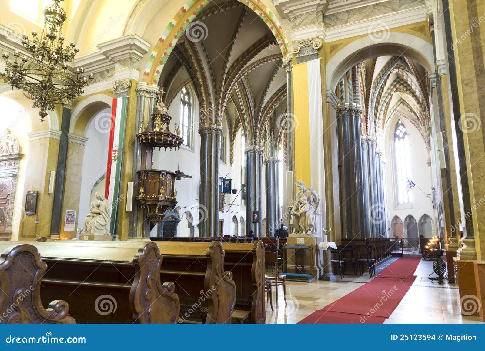 Budapest kościelnego miasta wewnętrzna parafia