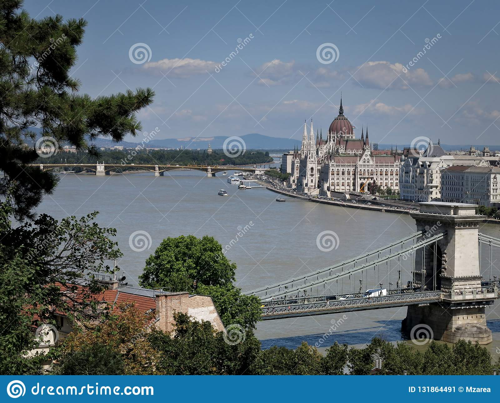 Budapest krajobrazy