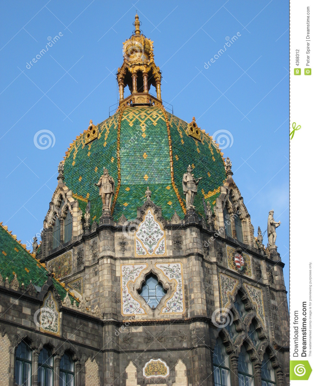 Budapest Museum Dome Stock Photography Image 4368312