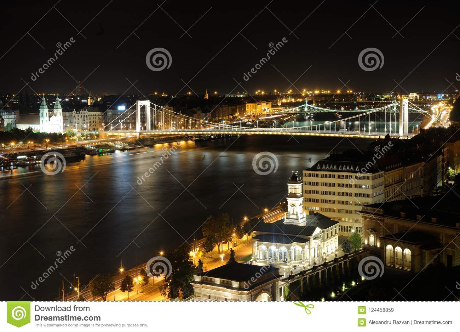 Budapest natt