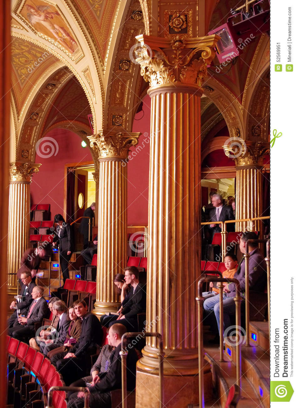 Budapest opera house interior editorial photo image for Performance house