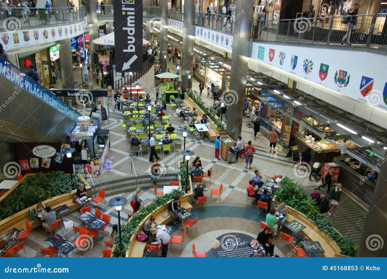 Budapest Shopping Editorial Stock Photo Image 45168853