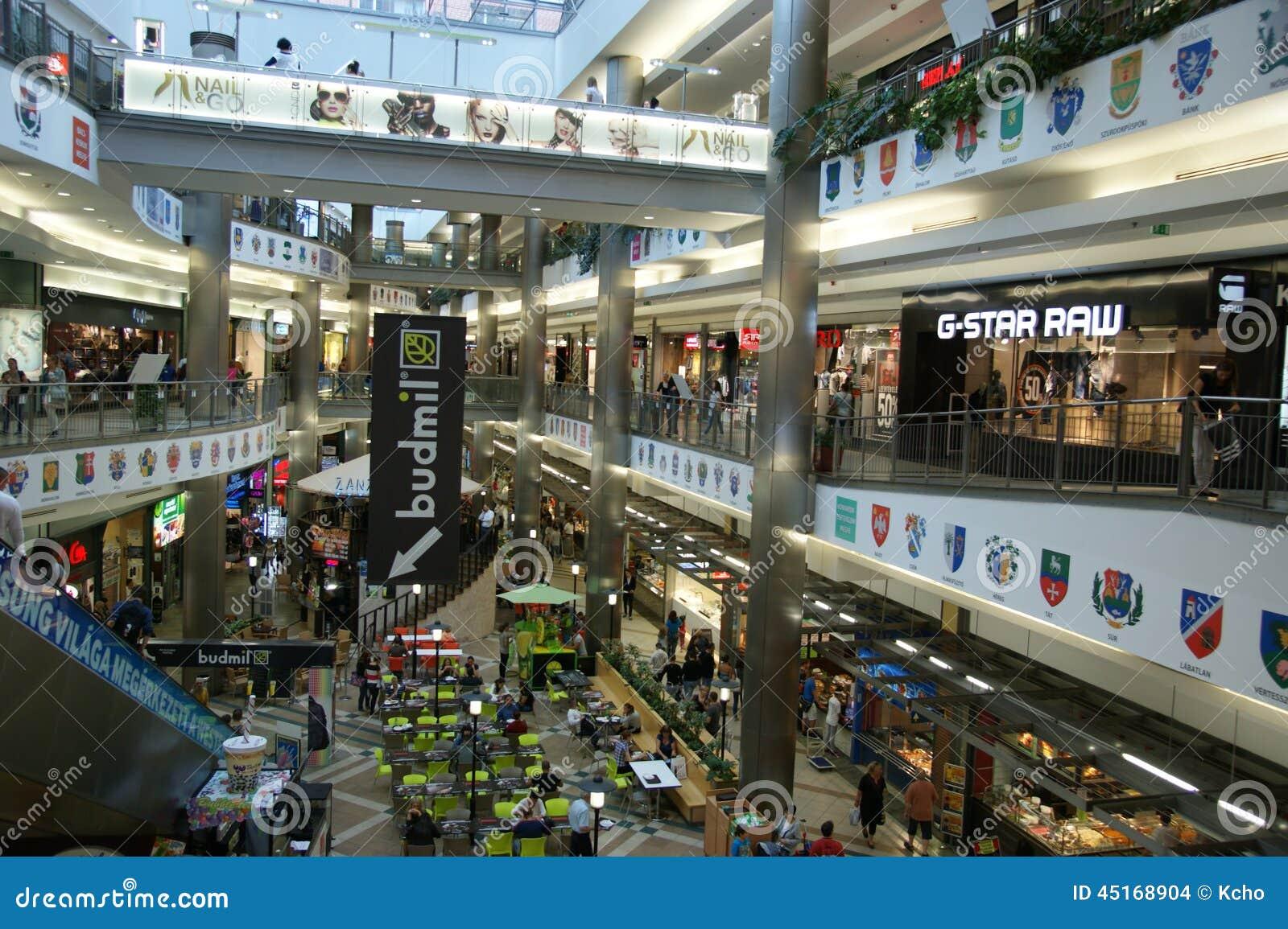 Budapest Shopping Editorial Stock Image Image 45168904