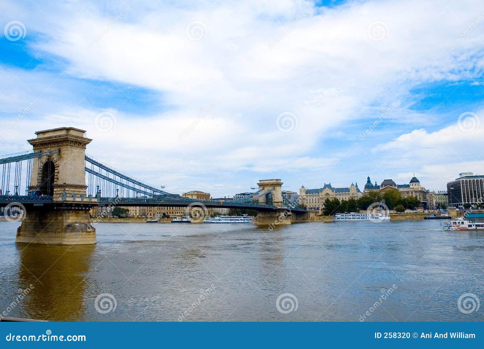 Fotografia stock: budapest sopra il fiume 2