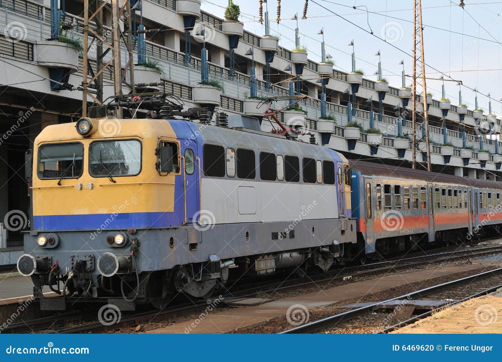 Budapeszt stacji pociągu