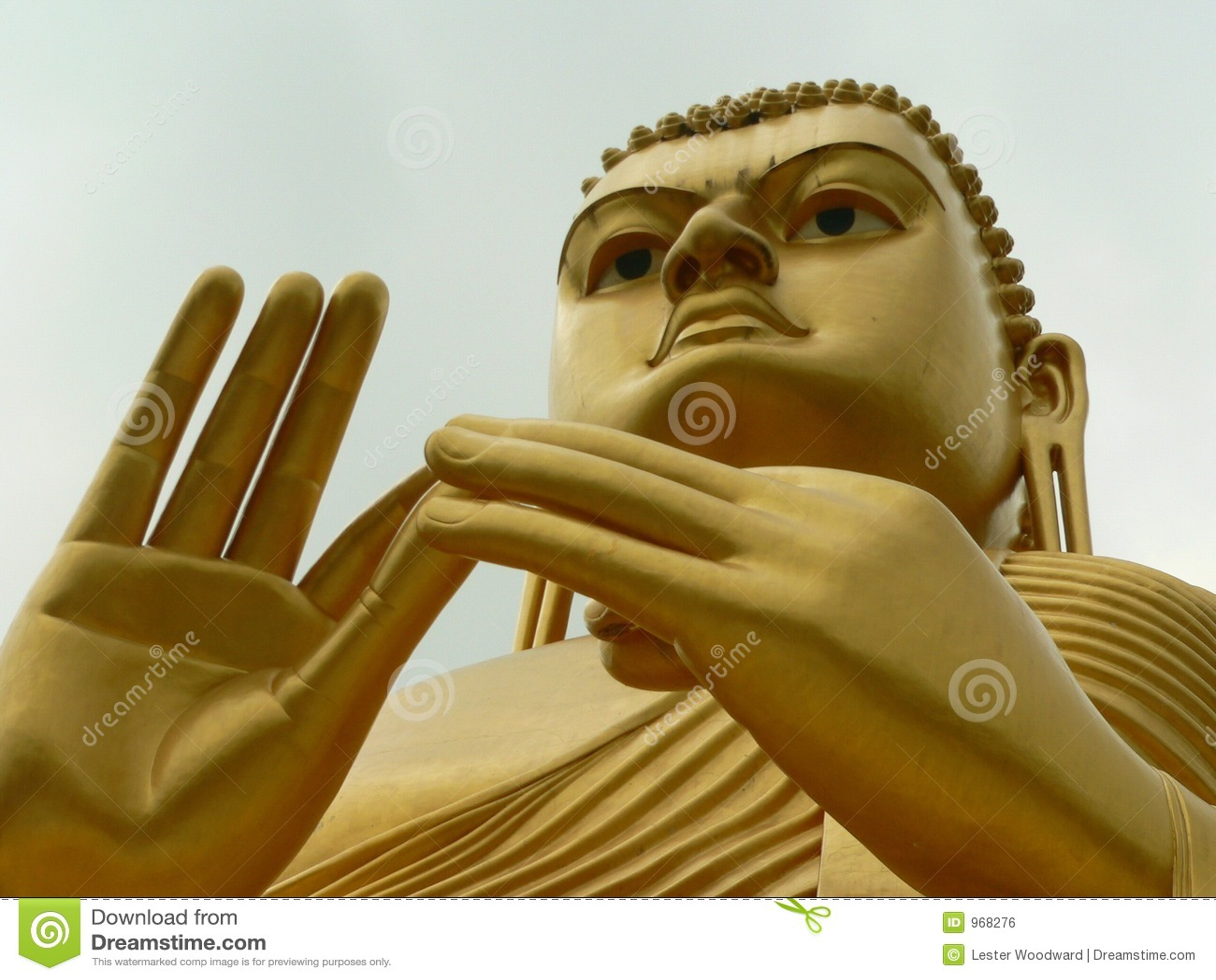 Buddah de Dambulla