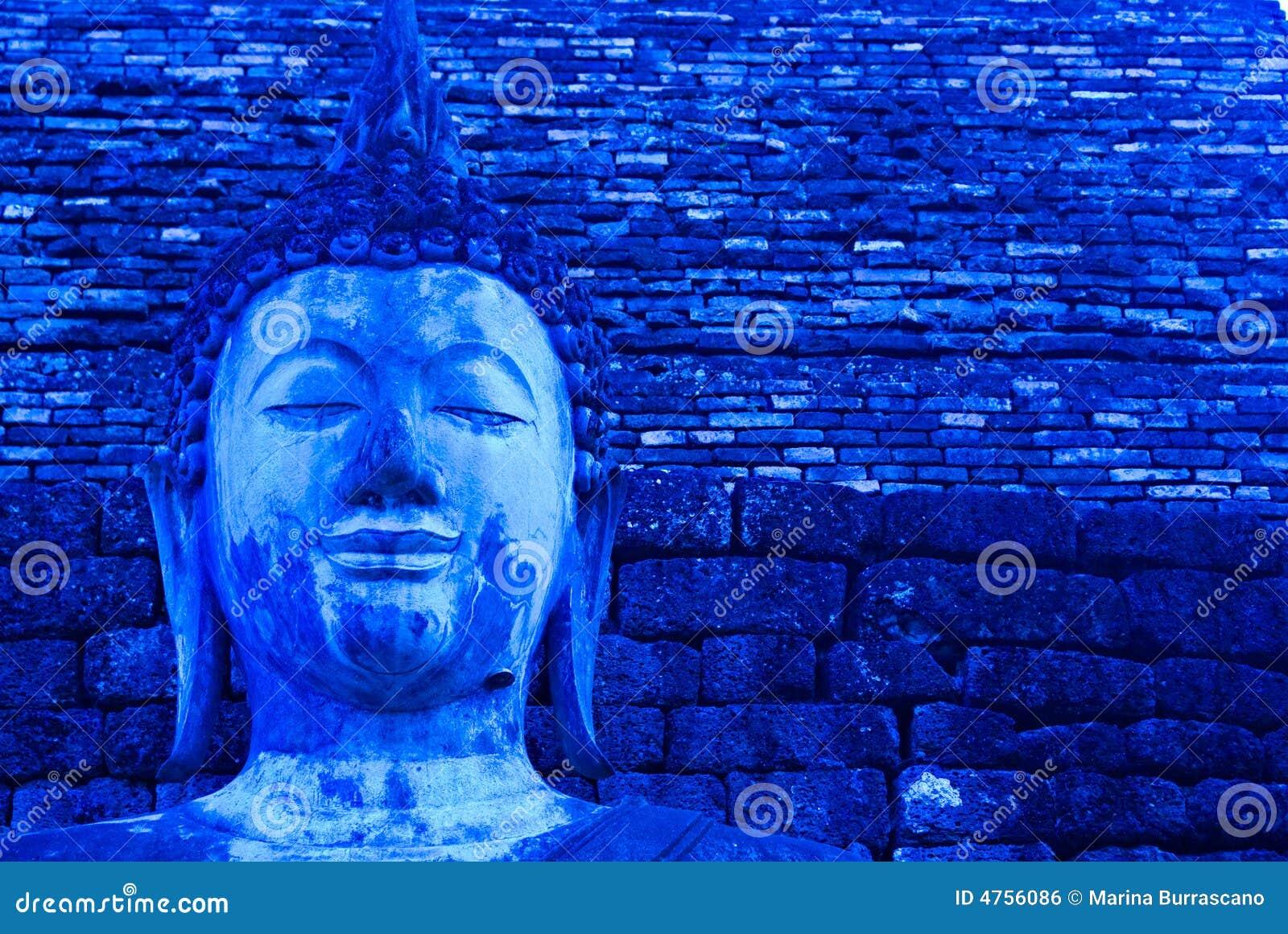 Buddha azul