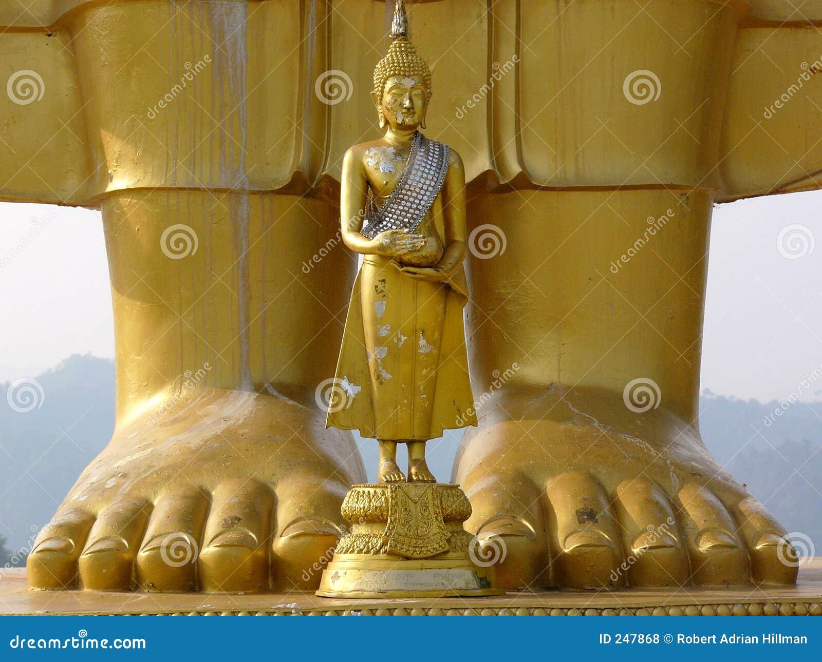 Buddha grande Buddha pequeno