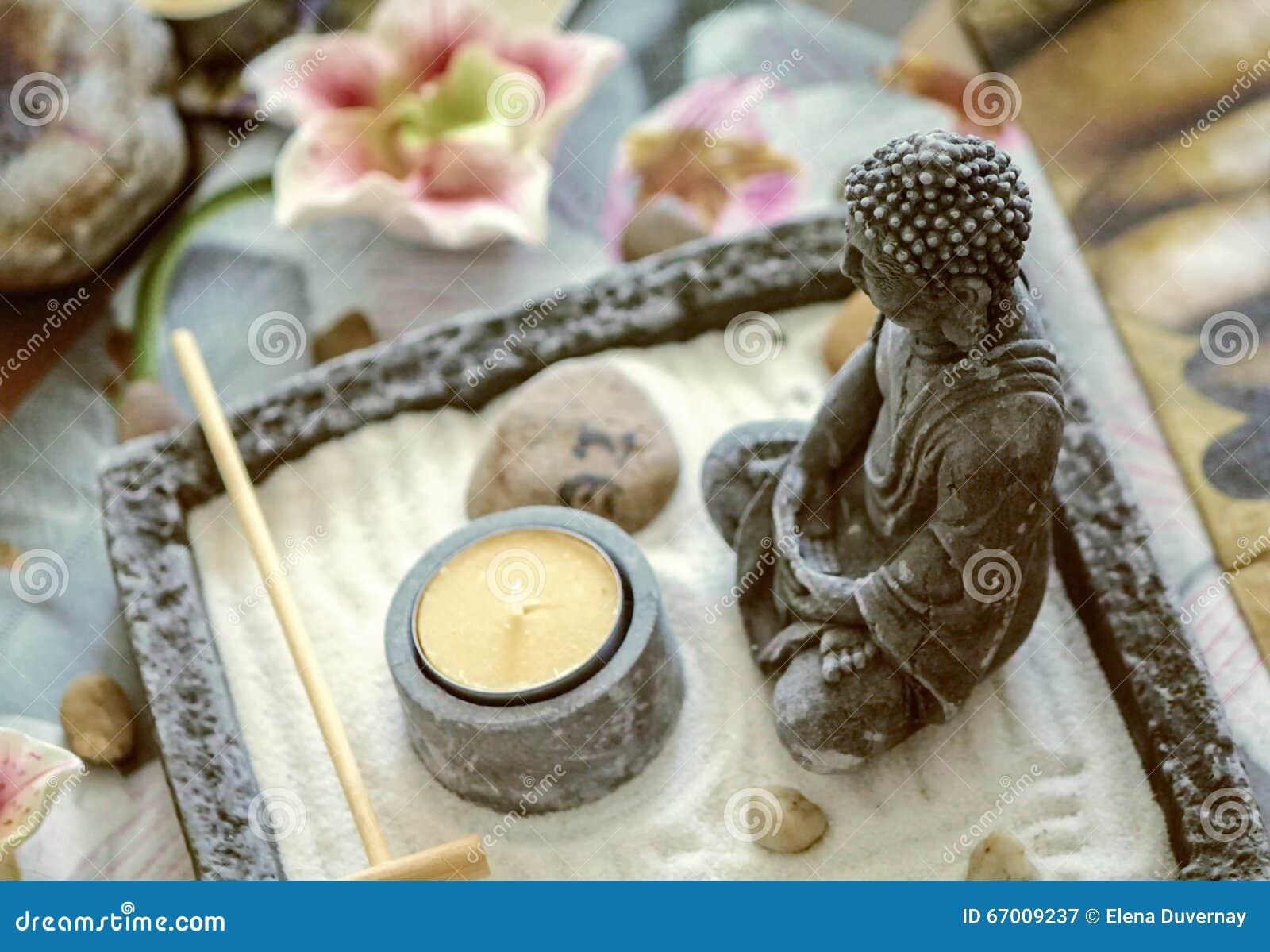 Buddha meditating decoration