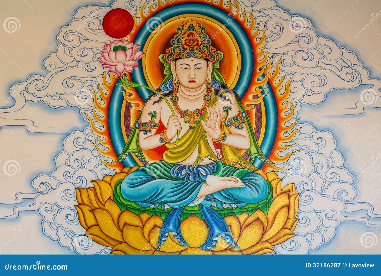 Decoration Mural Oriental