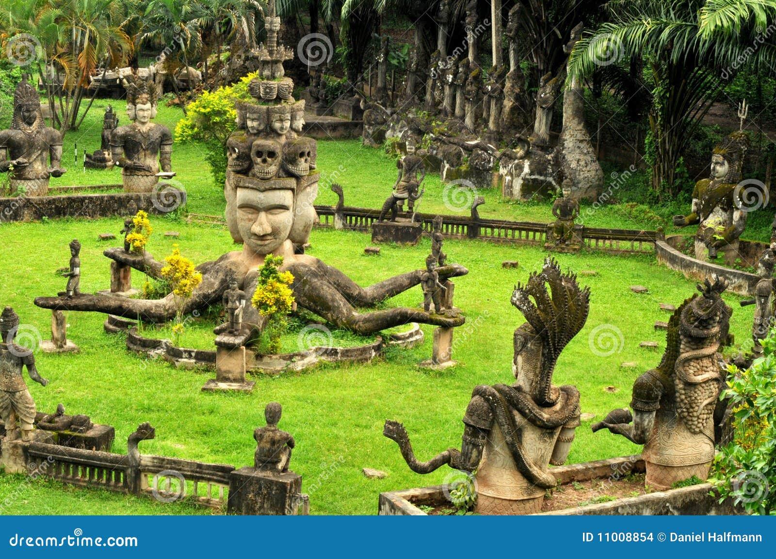 Buddha park,laos