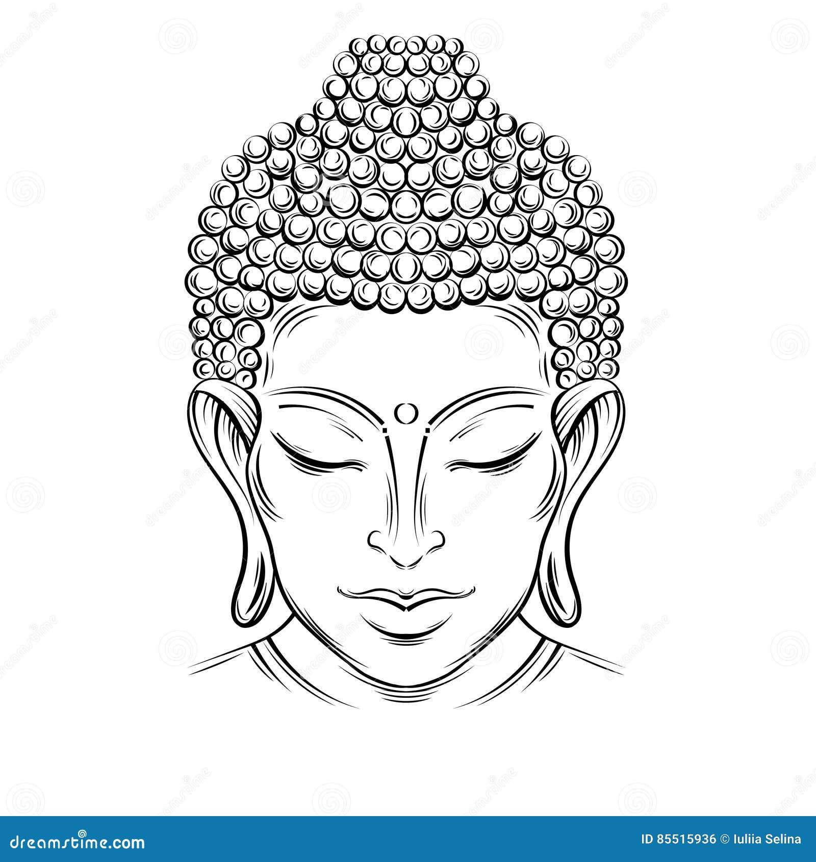 Buddhas head tattoo stock illustration illustration of asia 85515936 buddhas head tattoo asia beautiful biocorpaavc Images