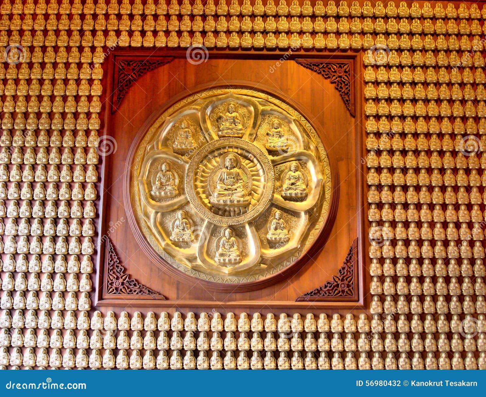 Buddha Sculpture at Dragon Temple Kammalawat