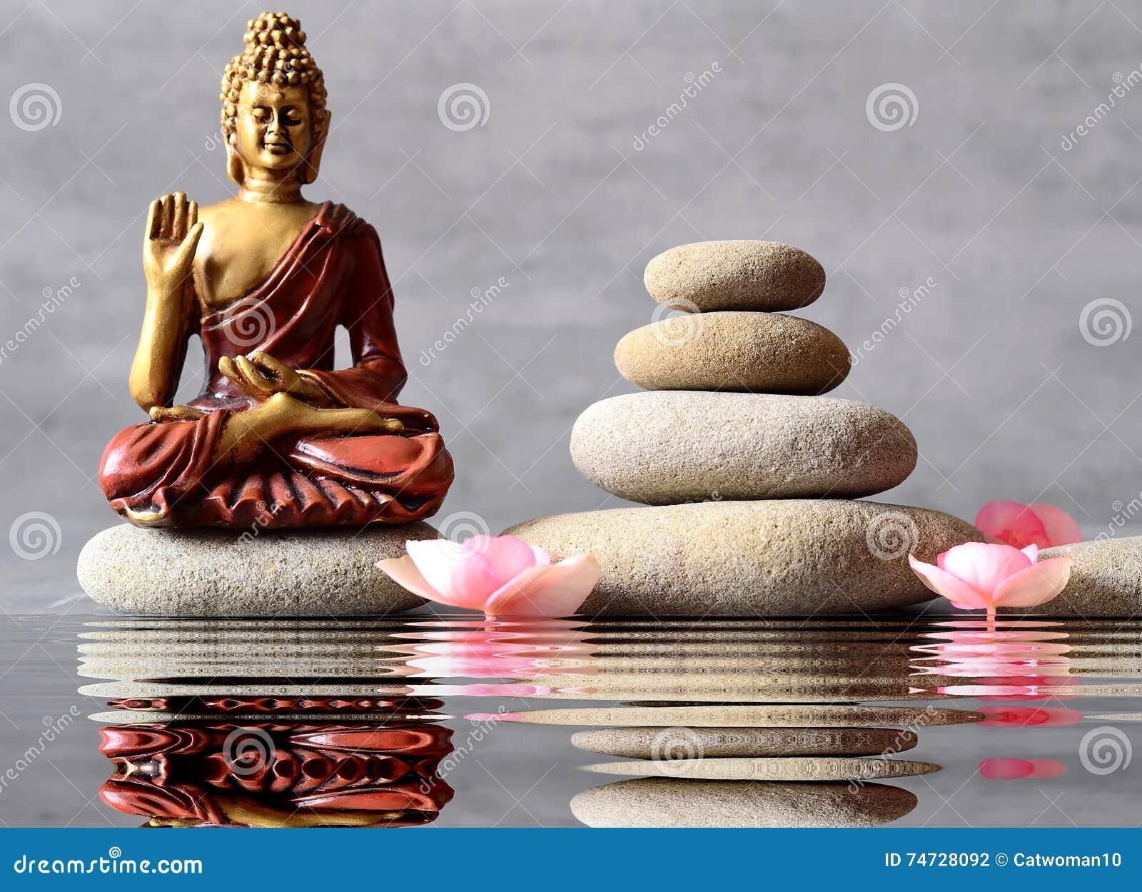 Balance Buddha Flower Garden Sitting Zen ...