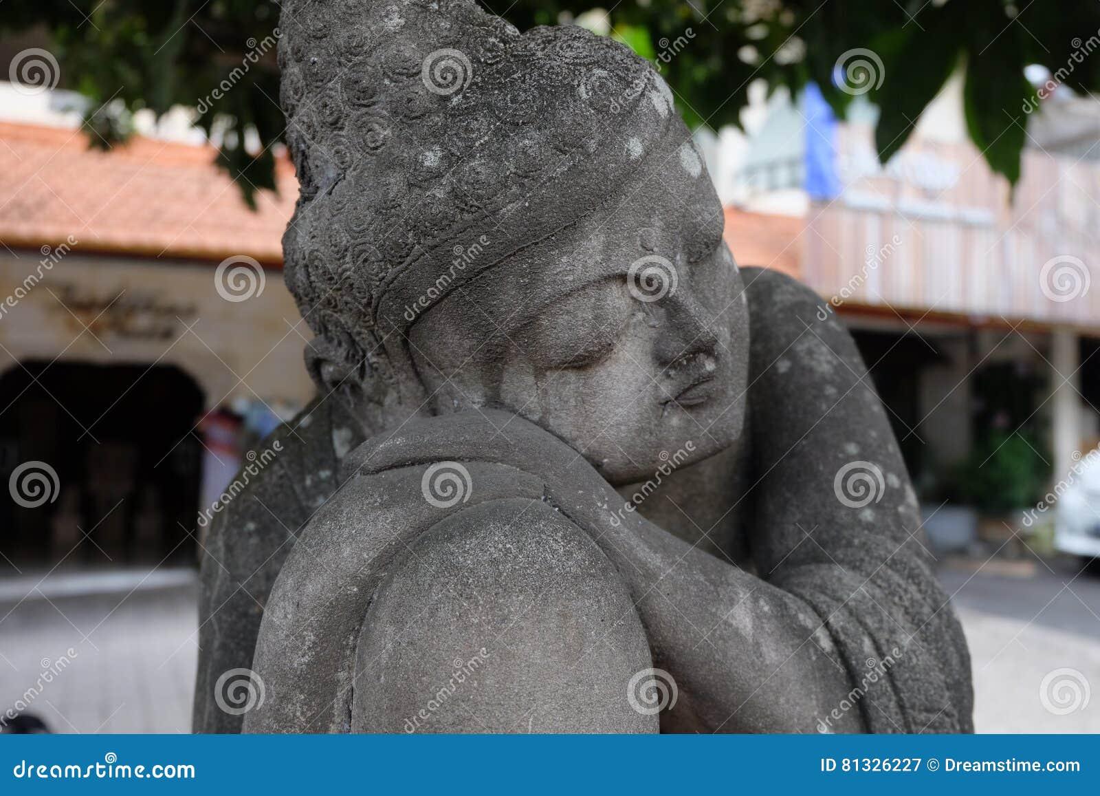 Buddha statua w Ubud