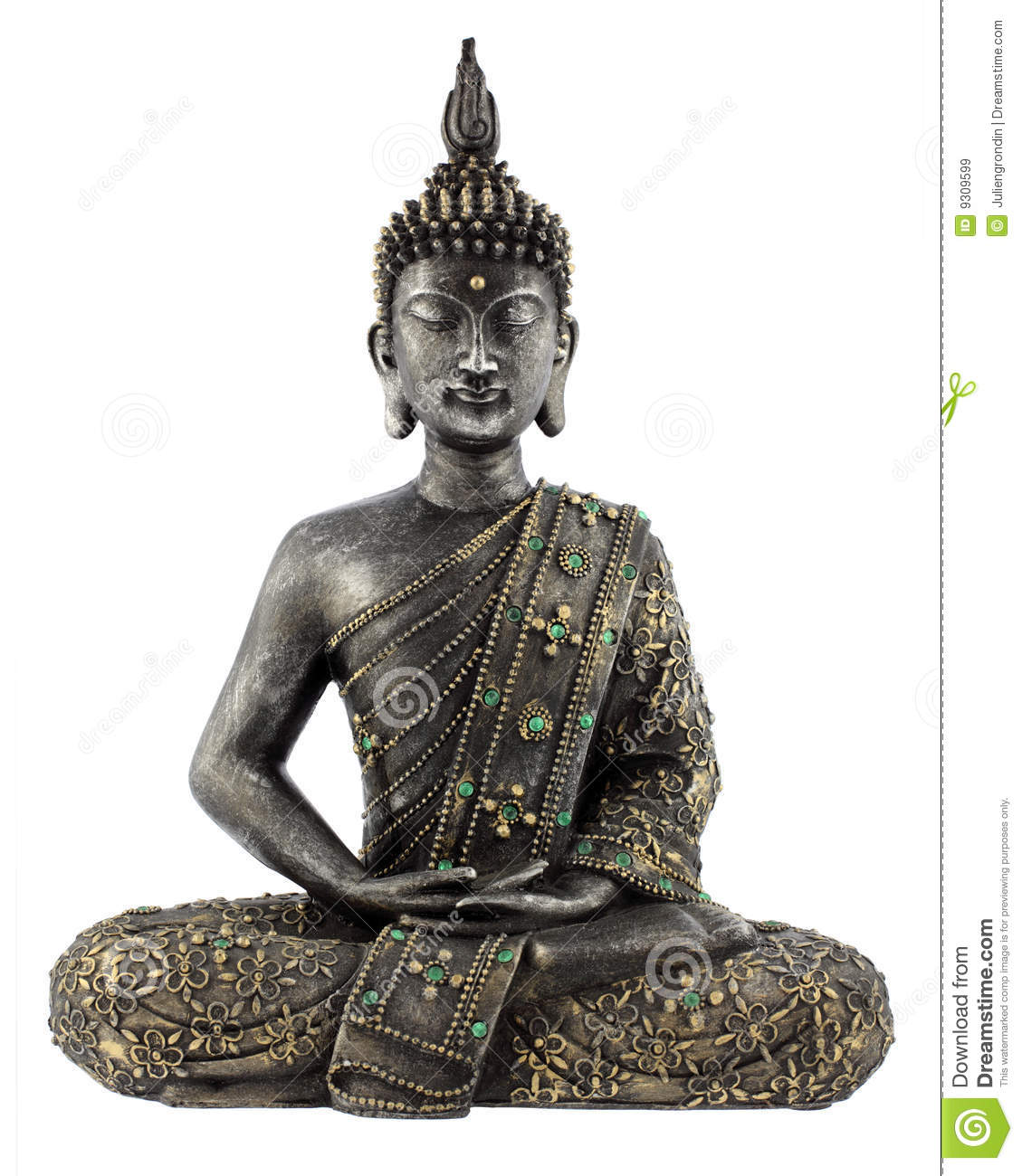 buddha statue royalty free stock images image 9309599. Black Bedroom Furniture Sets. Home Design Ideas
